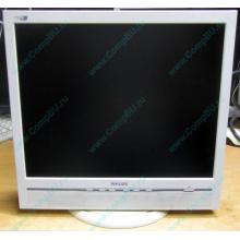 """Б/У монитор 17"""" Philips 170B с колонками и USB-хабом в Дедовске, белый (Дедовск)"""